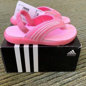 BNIB Adidas Akwah 4 Flip Flops